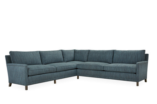 Lawrence 1935-Series Sectional by Lee Industries at Artful Lodger in Charlottesville, VA