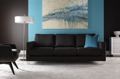 Leather Alessandro Sofa by American Leather at the Artful Lodger in Charlottesville, VA