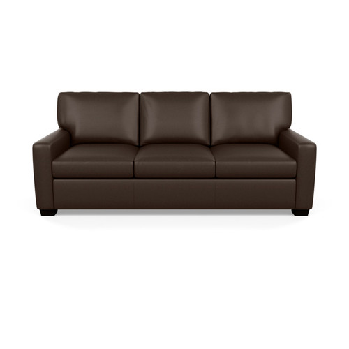 Leather Carson Sofa by American Leather at the Artful Lodger in Charlottesville, VA