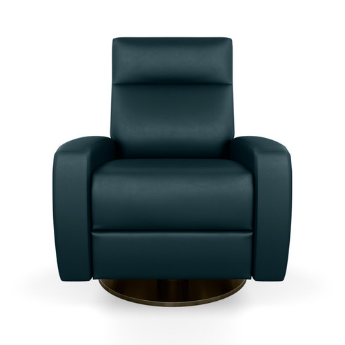 Leather Demi Comfort Recliner by American Leather at the Artful Lodger in Charlottesville, VA