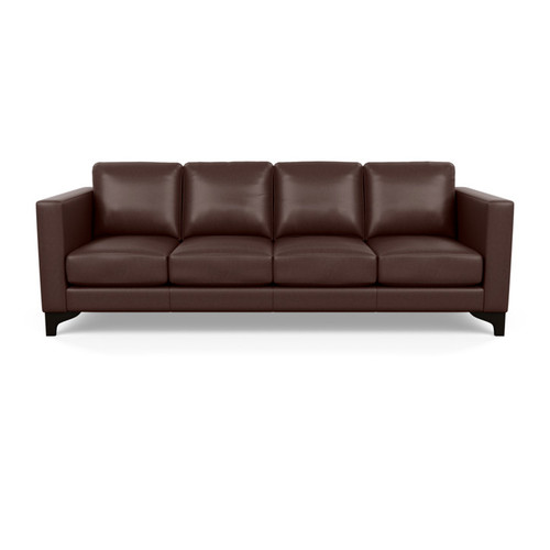Leather Kendall Sectional by American Leather at the Artful Lodger in Charlottesville, VA