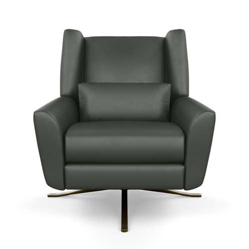 Leather Leia Re-Invented Recliner by American Leather at the Artful Lodger in Charlottesville, VA