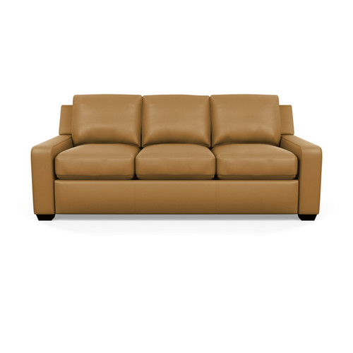 Leather Lisben Sofa by American Leather at the Artful Lodger in Charlottesville, VA