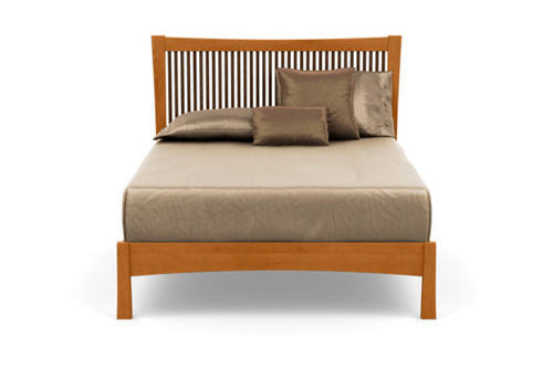 Berkeley Queen Bed by Copeland Furniture at the Artful Lodger in Charlottesville, VA