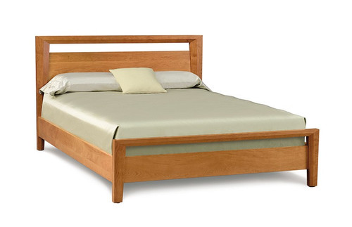 Mansfield Queen Bed by Copeland Furniture at the Artful Lodger in Charlottesville, VA