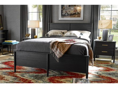 Langley Queen Bed by Universal Furniture at the Artful Lodger in Charlottesville, VA
