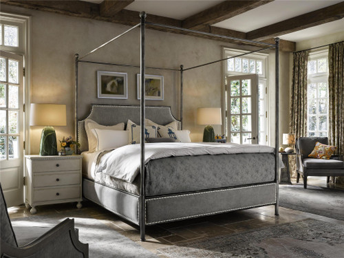 Respite Queen Bed by Universal Furniture at the Artful Lodger in Charlottesville, VA
