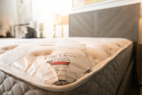 Doze II 1 Sided Queen Mattress by Custom Comfort at the Artful Lodger in Charlottesville, VA