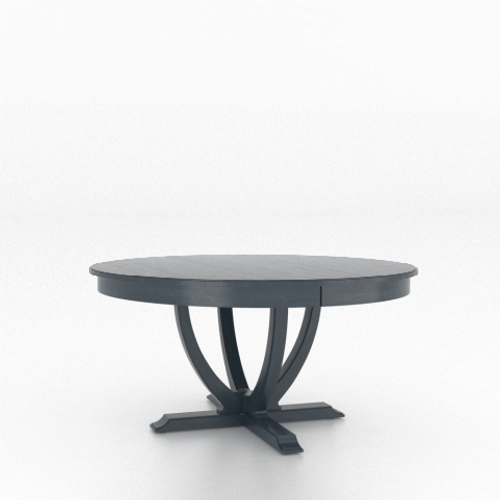 Adam Wood Top Table  6060 by Canadel Furniture at the Artful Lodger in Charlottesville, VA