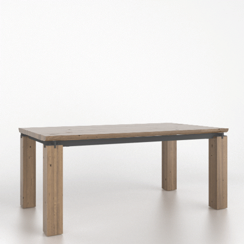 Roan Wood Top Table 4172 by Canadel at the Artful Lodger in Charlottesville, VA