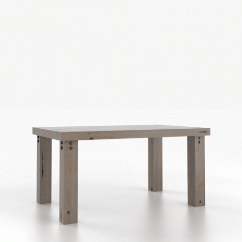 Zara Wood Top Table 3860 by Canadel at Artful Lodger in Charlottesville, VA