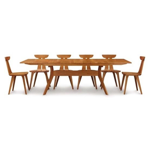 Audrey 38x72 Extension Dining Table by Copeland Furniture at Artful Lodger in Charlottesville, VA
