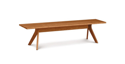 "Audrey 60"" Bench by Copeland Furniture at the Artful Lodger in Charlottesville, VA"