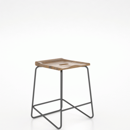Gala Stool 9050 by Canadel at Artful Lodger in Charlottesville, VA