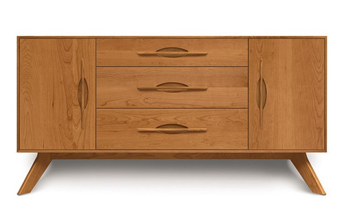 Audrey 1 Door/3 Drawers/1 Door Buffet by Copeland Furniture at the Artful Lodger in Charlottesville, VA
