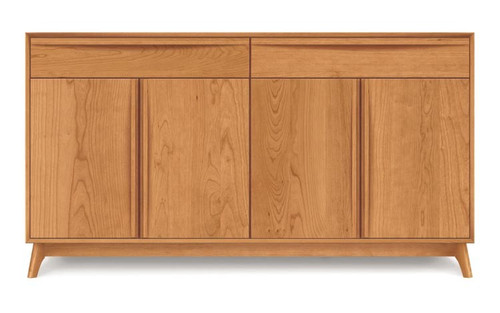 Catalina 2 Drawers Over 4 Door Buffet by Copeland Furniture at the Artful Lodger in Charlottesville, VA