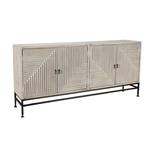 Finn 4 Door Sideboard by Classic Home Furniture at the Artful Lodger in Charlottesville, VA