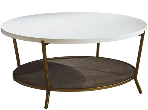 Playlist Round Cocktail Table by Universal Furniture at the Artful Lodger in Charlottesville, VA