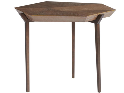 Curated Divergence End Table by Universal Furniture at the Artful Lodger in Charlottesville, VA