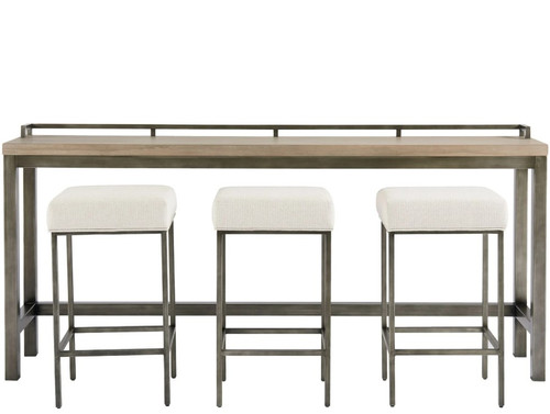 Mitchell Console Table W/ 3 Stools by Universal Furniture at the Artful Lodger in Charlottesville, VA