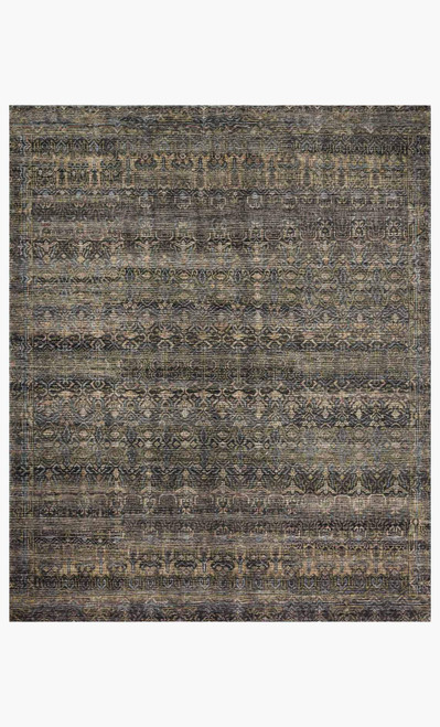 Amara Charcoal/Lagoon by Loloi Rugs at the Artful Lodger in Charlottesville, VA