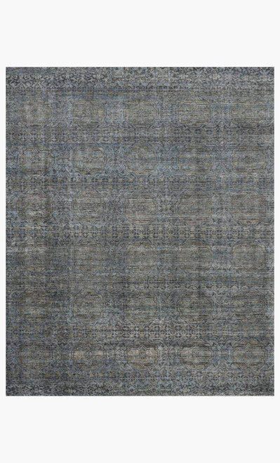 Amara Blue/Gold by Loloi Rugs at the Artful Lodger in Charlottesville, VA