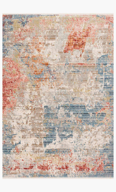 Claire Grey/Multi by Loloi Rugs at the Artful Lodger in Charlottesville, VA
