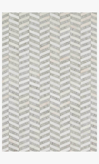 Dorado Grey/Ivory by Loloi Rugs at the Artful Lodger in Charlottesville, VA