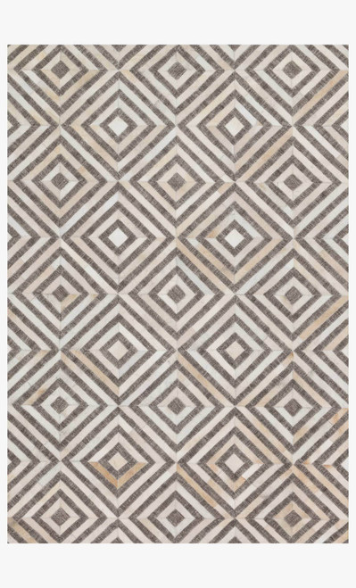 Dorado Taupe/Sand by Loloi Rugs at the Artful Lodger in Charlottesville, VA