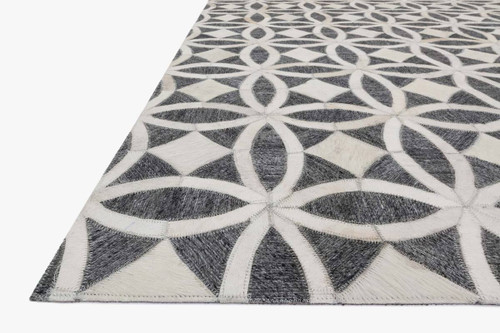 Dorado Graphite/Ivory by Loloi Rugs at the Artful Lodger in Charlottesville, VA