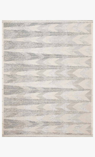 Evelina Pewter/Silver by Loloi Rugs at the Artful Lodger in Charlottesville, VA