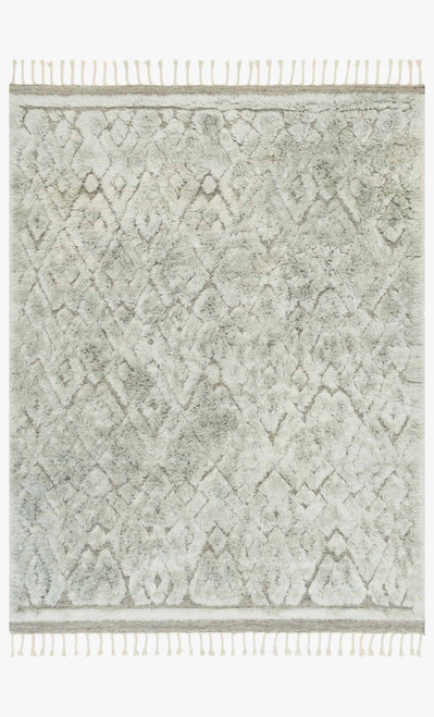 Hygge Grey/Mist by Loloi Rugs at the Artful Lodger in Charlottesville, VA