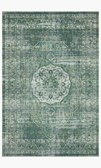 Mika Green/Mist by Loloi Rugs at the Artful Lodger in Charlottesville, VA