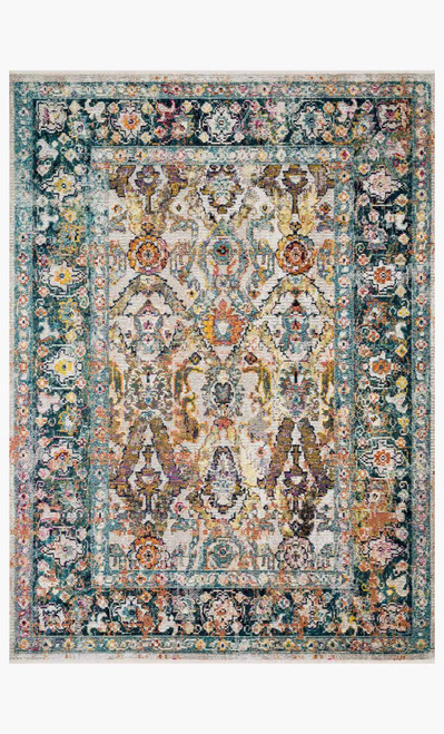 Silvia Stone/Teal by Loloi Rugs at the Artful Lodger in Charlottesville, VA