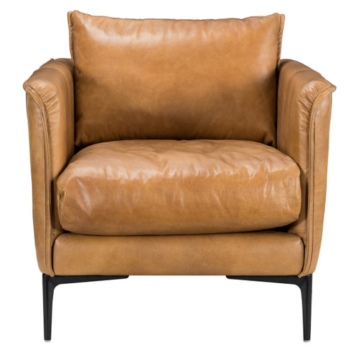 Abigail Tan Club Chair by Classic Home at the Artful Lodger in Charlottesville, VA