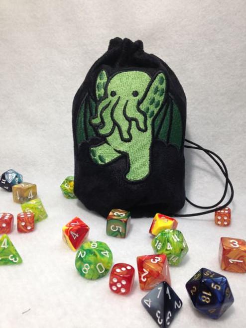 Cute Cthulhu Dice Bag