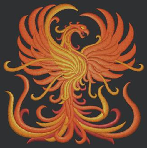 Phoenix Dice Bag