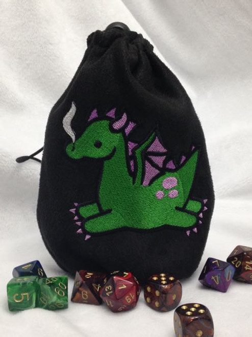 Cute Dragon Dice Bag