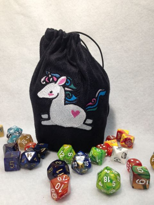 Cute Unicorn Dice Bag