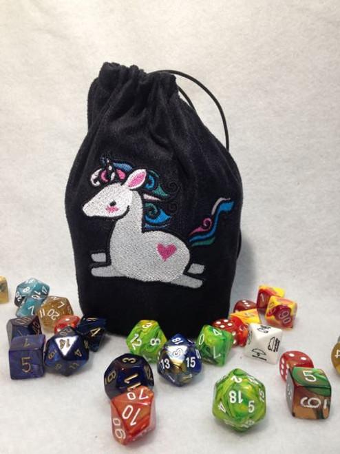 Cute Unicorn Dice Bag