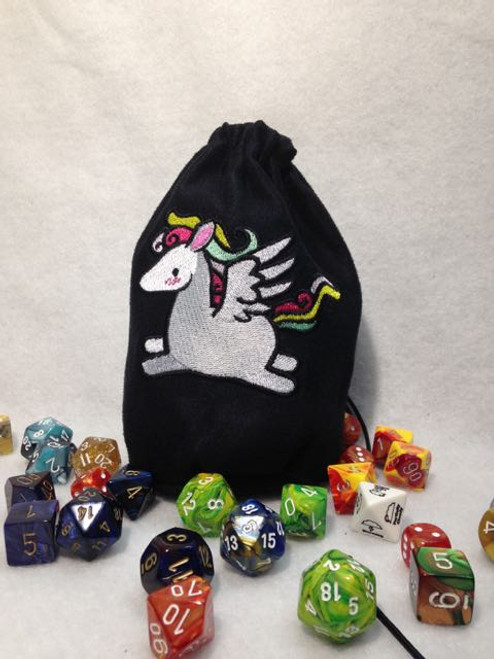 Cute Pegasus Dice Bag