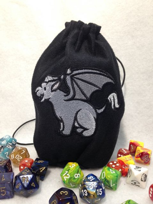 Cute Gargoyle Dice Bag