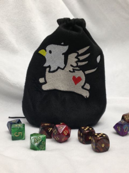 Cute Griffin Dice Bag