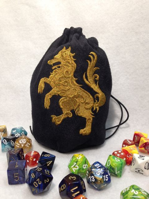 Gilden Wolf Dice Bag
