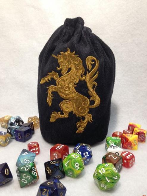 Gilden Unicorn Dice Bag