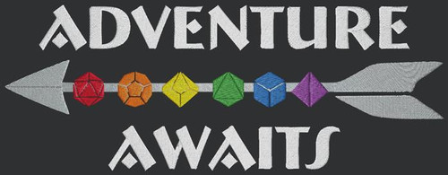 Adventure Awaits Messenger Bag