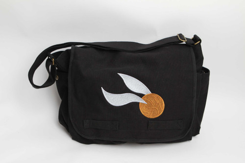 Golden Snitch Messenger Bag