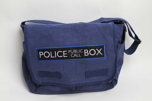 Police Box Messenger Bag