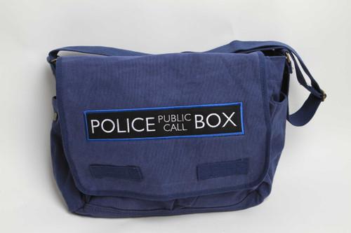 Police Box Messenger Bag