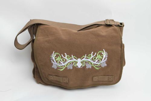 Elven Antler Messenger Bag